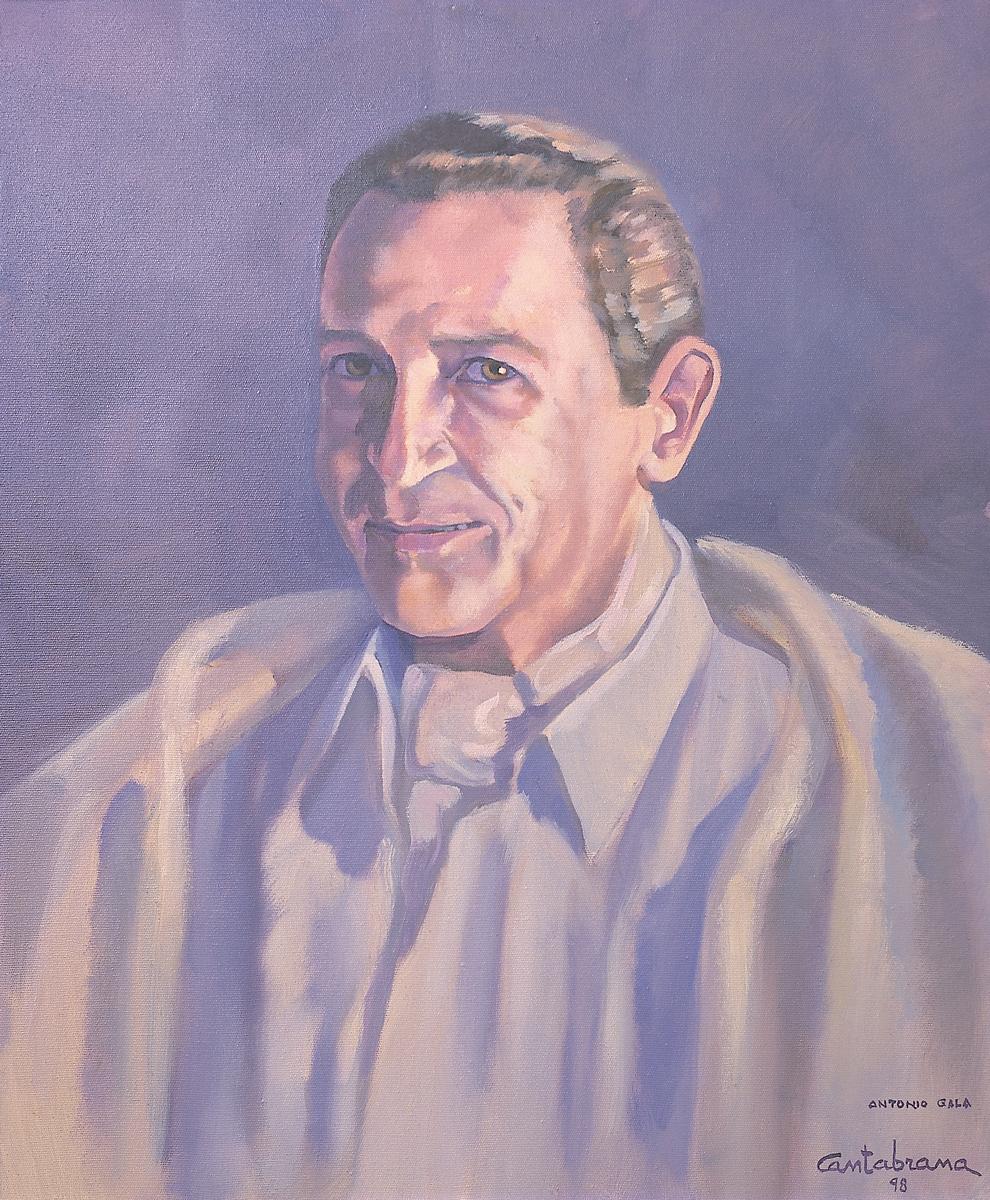 Antonio-Gala-oleo-sobre-lienzo-55x46-cm