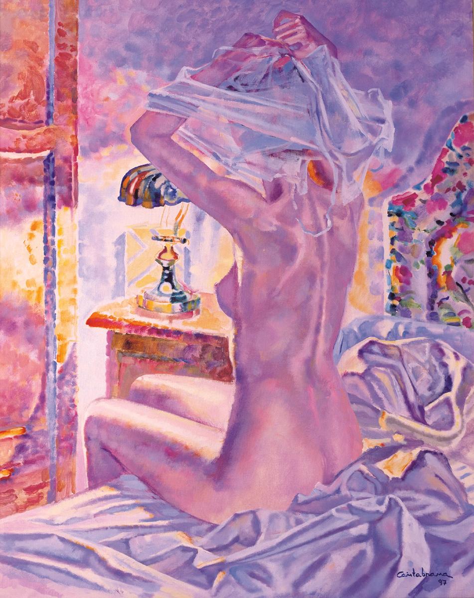 Desnudo-con-luz-electrica-oleo-sobre-lienzo-100x81-cm