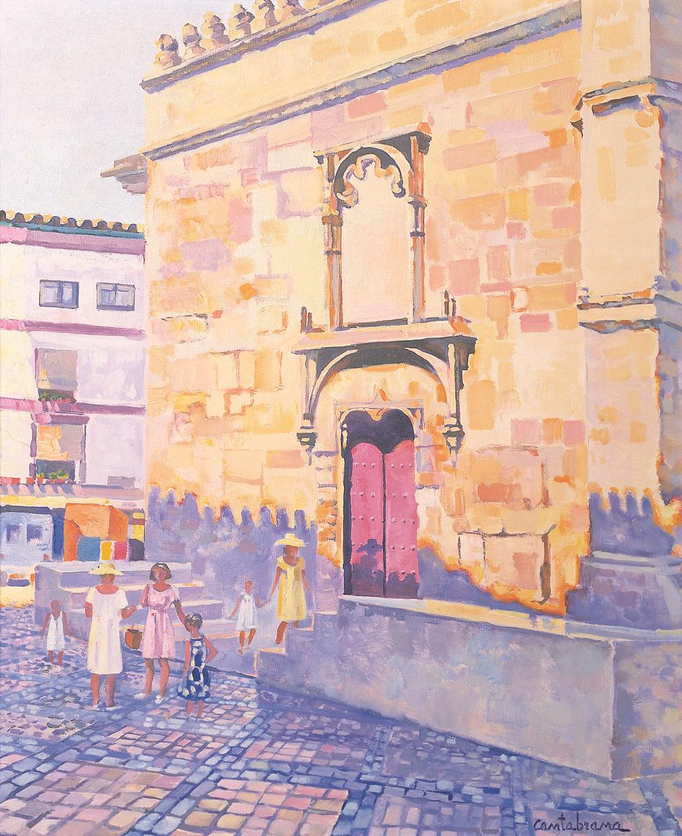 Mezquita-de-Cordoba-postigo-de-la-leche-oleo-sobre-lienzo-65x54-cm