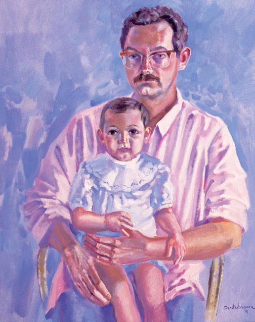 Paternidad-oleo-sobre-lienzo-73x60-cm