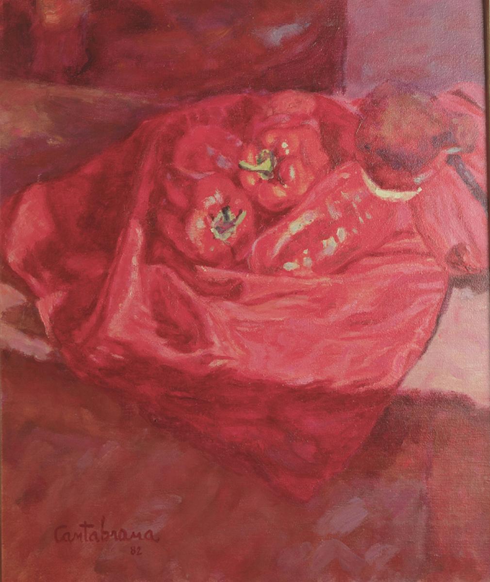 Pimientos-rojoso-oleo-sobre-lienzo-65x54-cm