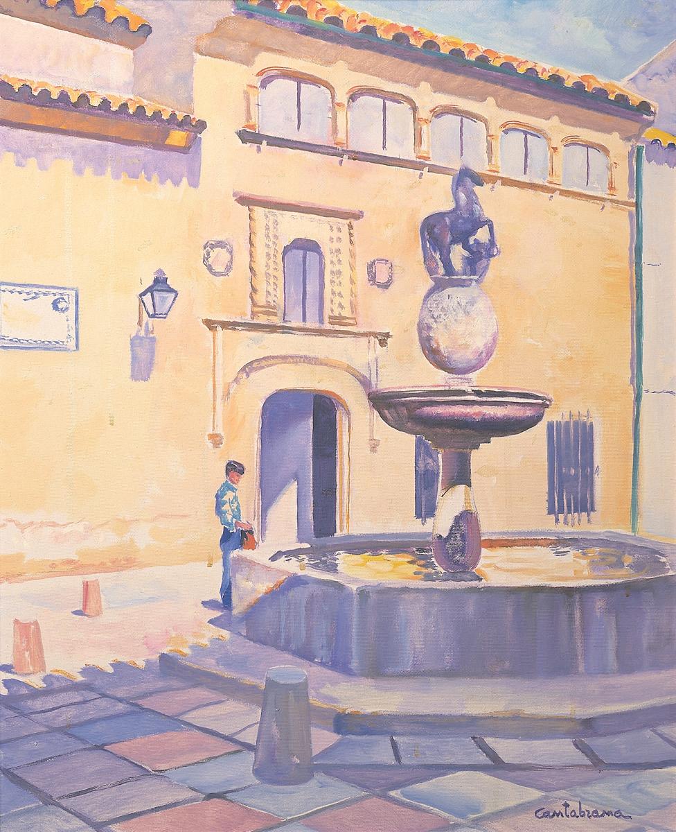 Plaza-del-Potro-oleo-sobre-lienzo-73x60-cm